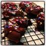 Gluten, dairy, refined sugar free chocolate doughnuts