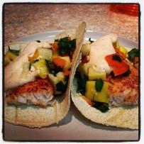 Chili Lime Fish Tacos