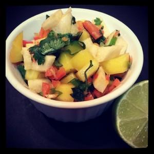 Mango Pepper Salsa